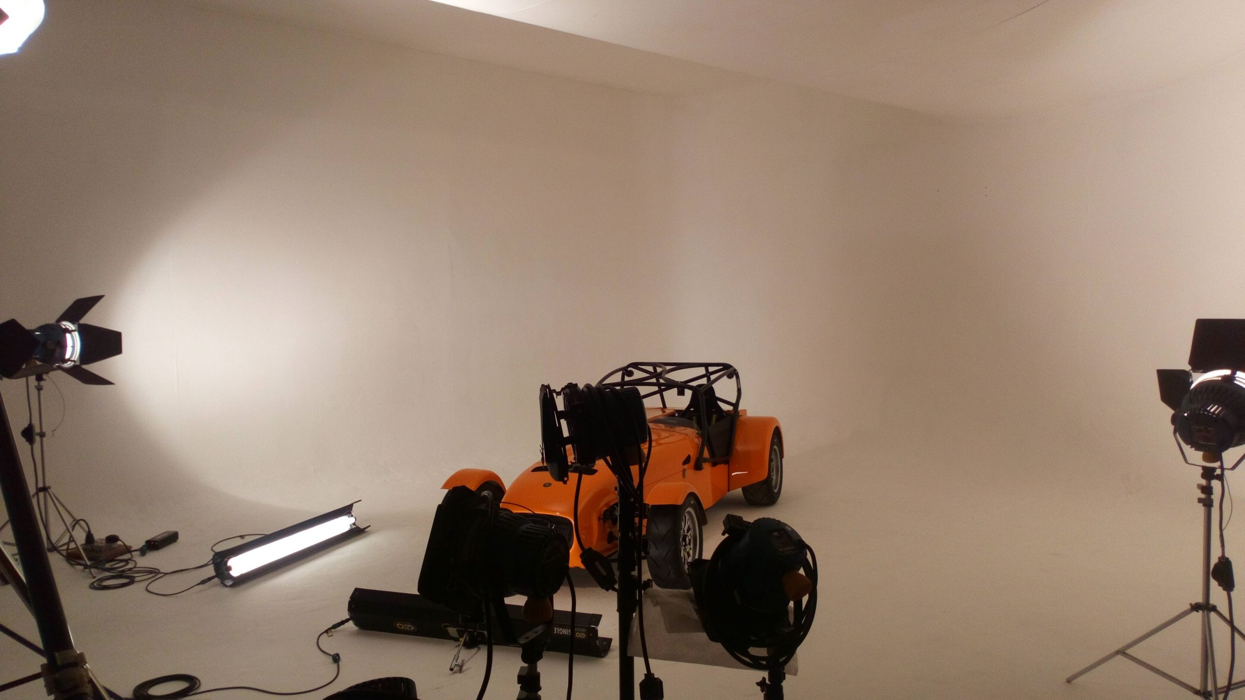 Futurist Media showroom video production